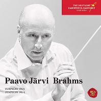 SYMPHONIES NO.3 & 4/ PAAVO JARVI [브람스: 교향곡 3, 4번 - 파보 예르비]
