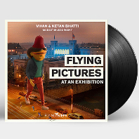 FLYING PICTURES AT AN EXHIBITION/ FLYING STEPS [비비안 & 케탄 바티, 무소르그스키: 전람회의 그림 - 플라잉 스텝스] [LP]