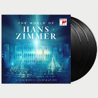 HANS ZIMMER - THE WORLD OF HANS ZIMMER: A SYMPHONIC CELEBRATION [한스 짐머: 영화음악 모음 - 오케스트라 & 합창단] [한정반] [LP]<