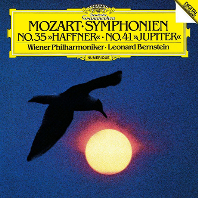 모차르트: 교향곡 35번 '하프너' & 41번 '주피터' [UHQCD] [Limited Release] - 레너드 번스타인 / 빈 필하모닉 오케스트라