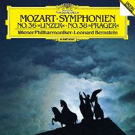 모차르트: 교향곡 36번 '린츠' & 38번 '프라하' [UHQCD] [Limited Release] - 레너드 번스타인 / 빈 필하모닉 오케스트라
