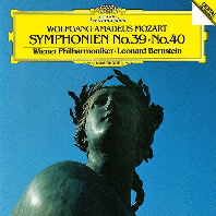 모차르트: 교향곡 39번 & 40번 [UHQCD] [Limited Release] - 레너드 번스타인 / 빈 필하모닉 오케스트라