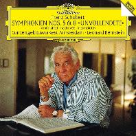 슈베르트: 교향곡 5, 8번 [UHQCD] [LIMITED RELEASE] - 레너드 번스타인 / 빈 필하모닉 오케스트라