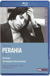 THE COMPLETE PIANO CONCERTOS/ MURRAY PERAHIA, NEVILLE MARRINER [베토벤: 피아노 협주곡 전곡 - 머레이 페라이어]