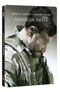 아메리칸 스나이퍼: 스틸북 한정판 [AMERICAN SNIPER] 미개봉 새상품