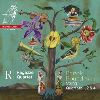 BARTOK BOUND VOL.1: STRING QUARTETS 1, 2 & 4/ RAGAZZE QUARTET [바르톡: 현악사중주 - 라가체 사중주단]