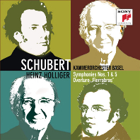 "SYMPHONIES NOS.1 & 5, OVERTURE ""FIERRABRAS""/ HEINZ HOLLIGER [슈베르트: 교향곡 1, 5번 - 하인츠 홀리거, 바젤 실내 관현악단]"