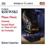 PIANO MUSIC/ ROBERT SATTERLEE [제프스키: 피아노 작품집]
