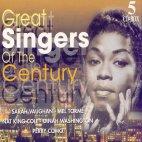GREAT SINGERS OF THE CENTURY/ SARAH VAUGHAN 외 (5CD BOX)