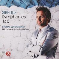 SYMPHONIES NOS. 1 & 6/ THOMAS SONDERGARD [시벨리우스: 교향곡 1, 6 번]