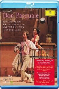 DON PASQUALE/ ANNA NETREBKO, JAMES LEVINE [도니제티: 돈 파스콸레]