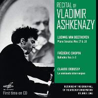 RECITAL OF VLADIMIR ASHKENAZY [베토벤, 쇼팽, 드뷔시: 1963 모스크바 리사이틀 - 블라디미르 아쉬케나지]