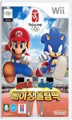 닌텐도 WII : 마리오와소닉 베이징 올림픽