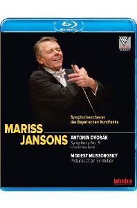 SYMPHONY NO.9 'NEW WORLD' & PICTURES AT AN EXHIBITION/ MARISS JANSONS [드보르작: 교향곡 9번 & 무소르그스키: 전람회의 그림]