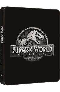 쥬라기 월드: 폴른 킹덤 4K UHD+BD [라인룩 무삭제 스틸북 한정판] [JURASSIC WORLD: FALLEN KINGDOM]