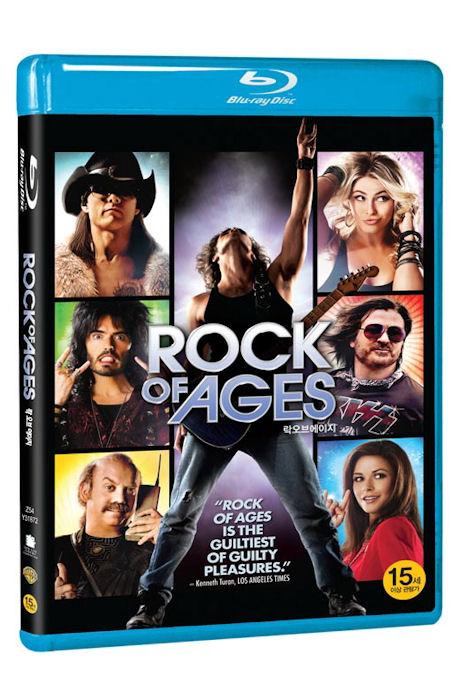 락 오브 에이지 [ROCK OF AGES] [14년 1월 워너 블루레이 프로모션] / [국내 출시 정품 / 기타 피크 포함]