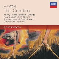 THE CREATION/ CHRISTOPHER HOGWOOD [DOUBLE DECCA] [하이든: 천지창조 - 호그우드]