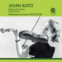 VIOLIN CONCERTOS/ JOHANNA MARTZY, PAUL KLETZKI [멘델스존 & 브람스: 바이올린 협주곡 - 요한나 마르치, 클레츠키]