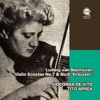 "VIOLIN SONATAS NO.7 & 9 ""KREUTZER""/ GIOCONDA DE VITO, TITO APREA [베토벤: 바이올린 소나타 7, 9번 크로이처 - 지오콘다 드 비토]"