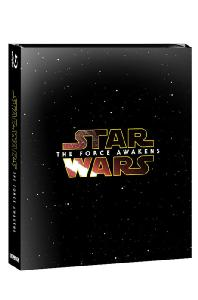 스타워즈: 깨어난 포스 [2BD+DVD] [스틸북 한정판] [STAR WARS: THE FORCE AWAKENS]