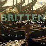 COMPLETE STRING QUARTETS/ THE BRITTEN QUARTET