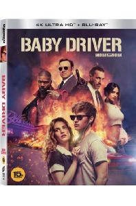 베이비 드라이버 [4K UHD+BD] [슬립케이스 한정판] [BABY DRIVER]