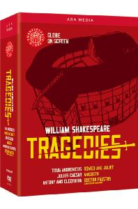 셰익스피어 글로브: 비극 박스세트 [WILLIAM SHAKESPEARE: THE GLOBE COLLECTION - TRAGEDIES]
