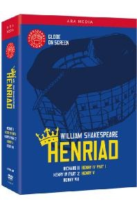셰익스피어 글로브: 시대극 박스세트 [WILLIAM SHAKESPEARE: THE GLOBE COLLECTION - HENRIAD]