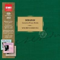 COMPLETE SOLO PIANO WORKS/ WALTER GIESEKING [SACD HYBRID]