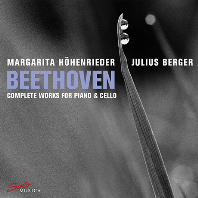 COMPLETE WORKS FOR PIANO & CELLO/ MARGARITA HOHENRIEDER, JULIUS BERGER [베토벤: 첼로 소나타 전곡 - 율리우스 베르거]