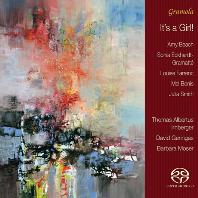 IT`S A GIRL!/ THOMAS ALBERTUS IRNBERGER, DAVID GERINGAS, BARBARA MOSER [SACD HYBRID] [파렝, 보니스, 비치: 여성 작곡가의 피아노 삼중주 작품집]