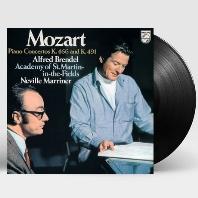 MOZART: PIANO CONCERTOS K.466 & K.491/ NEVILLE MARRINER [180G LP] [알프레드 브렌델: 모차르트 피아노 협주곡 20, 24번]