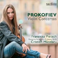 VIOLIN CONCERTOS/ FRANZISKA PIETSCH, CRISTIAN MACELARU [프로코피에프: 바이올린 협주곡 1, 2번 - 프란치스카 피치]