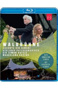 WALDBUHNE: GOODBYE SIR SIMON/ MAGDALENA KOZENA, SIMON RATTLE [2018 베를린 필 발트뷔네 콘서트 - 코제나, 래틀]