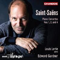 PIANO CONCERTOS NOS.1, 2 & 4/ LOUIS LORTIE, EDWARD GARDNER [생상스: 피아노 협주곡 1, 2, 4번 - 루이 로르티]