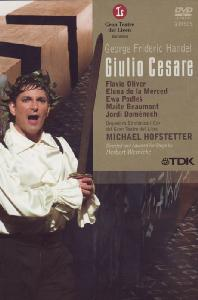 GIULIO CESARE/ MICHAEL HOFSTETTER [헨델: 줄리오 체사레]