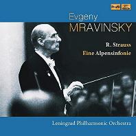EINE ALPENSINFONIE/ EVGENY MRAVINSKY [R. 슈트라우스: 알프스 교향곡 - 므라빈스키]