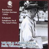 "CORIOLAN OVERTURE & SYMPHONY NO.9 ""THE GREAT""/ WILHELM FURTWANGLER [베토벤: 코리올란 서곡 & 슈베르트: 교향곡 9번 <더 그레이트> - 푸르트뱅글러]"