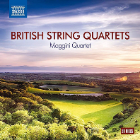 BRITISH STRING QUARTETS/ MAGGINI QUARTET [영국 현악4중주 모음집]