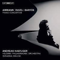 PIANO CONCERTOS/ ANDREAS HAEFLIGER, SUSANNA MALKKI [SACD HYBRID] [아만, 라벨, 바르톡: 피아노 협주곡 - 안드레아스 헤플리거]