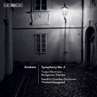 SYMPHONY NO.4, TRAGIC OVERTURE, HUNGARIAN DANCES/ THOMAS DAUSGAARD [SACD HYBRID] [브람스: 교향곡 4번, 비극적 서곡, 헝가리 무곡집 - 토마스 다우스고]