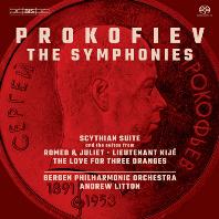 THE SYMPHONIES/ ANDREW LITTON [SACD HYBRID] [프로코피에프: 교향곡 전곡 1-6번, 관현악곡집]