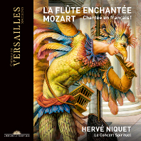LA FLUTE ENCHANTEE/ HERVE NIQUET [2CD+BD+DVD] [모차르트: 마술피리 - 프랑스어 버전]