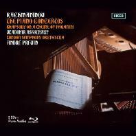 THE PIANO CONCERTOS/ VLADIMIR ASHKENAZY, ANDRE PREVIN [DELUXE EDTION] [라흐마니노프: 피아노 협주곡 전곡 - 아쉬케나지 & 프레빈]