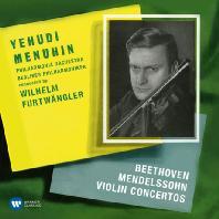 VIOLIN CONCERTOS/ YEHUDI MENUHIN, WILHELM FURTWANGLER [ORIGINAL JACKET] [베토벤 & 멘델스존: 바이올린 협주곡]