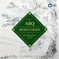 STRING QUARTETS 1 & 2/ ALBAN BERG QUARTETT [ORIGINAL JACKET] [멘델스존: 현악 사중주 1, 2번]