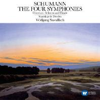 THE FOUR SYMPHONIES/ WOLFGANG SAWALLISCH [ORIGINAL JACKET] [슈만: 교향곡 1-4번]
