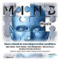 MIND MUSIC: MUSIC RELATED TO NEURODEGENERATIVE CONDITIONS/ ELIZABETH JORDAN, LYNSEY MARSH, STEPHEN BARLOW [마인드 뮤직: 클라리넷 작품집]