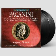 NICOLO PAGANINI - PLAYED ON PAGANINI`S VIOLIN VOL.1: VIOLIN CONCERTOS/ MASSIMO QUARTA [파가니니 바이올린으로 연주한 파가니니 음악 1집: 바이올린 협주곡 1 2번]