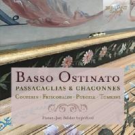 BASSO OSTINATO: PASSACAGLIAS & CHACONNES/ PIETER-JAN BELDER [파사칼리아 & 샤콘느 작품집: 바흐, 퍼셀 외 - 피터 얀 벨더 ]